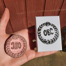 Custom Carved Stamp Commission