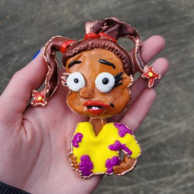 Custom Susie Pendant