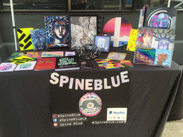 SpineBlue at Yard Art