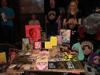 SpineBlue at Mega Art Night