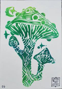 """""""Tribe Mind"""" Printmaking"""