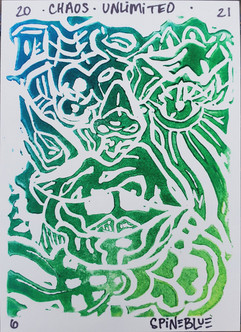 """""""Chaos Unlimited"""" Printmaking"""