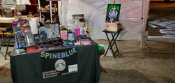 SpineBlue at Mid City Rising's Halloween Party