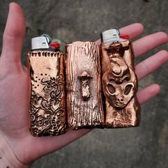 Copper Lighter Cases