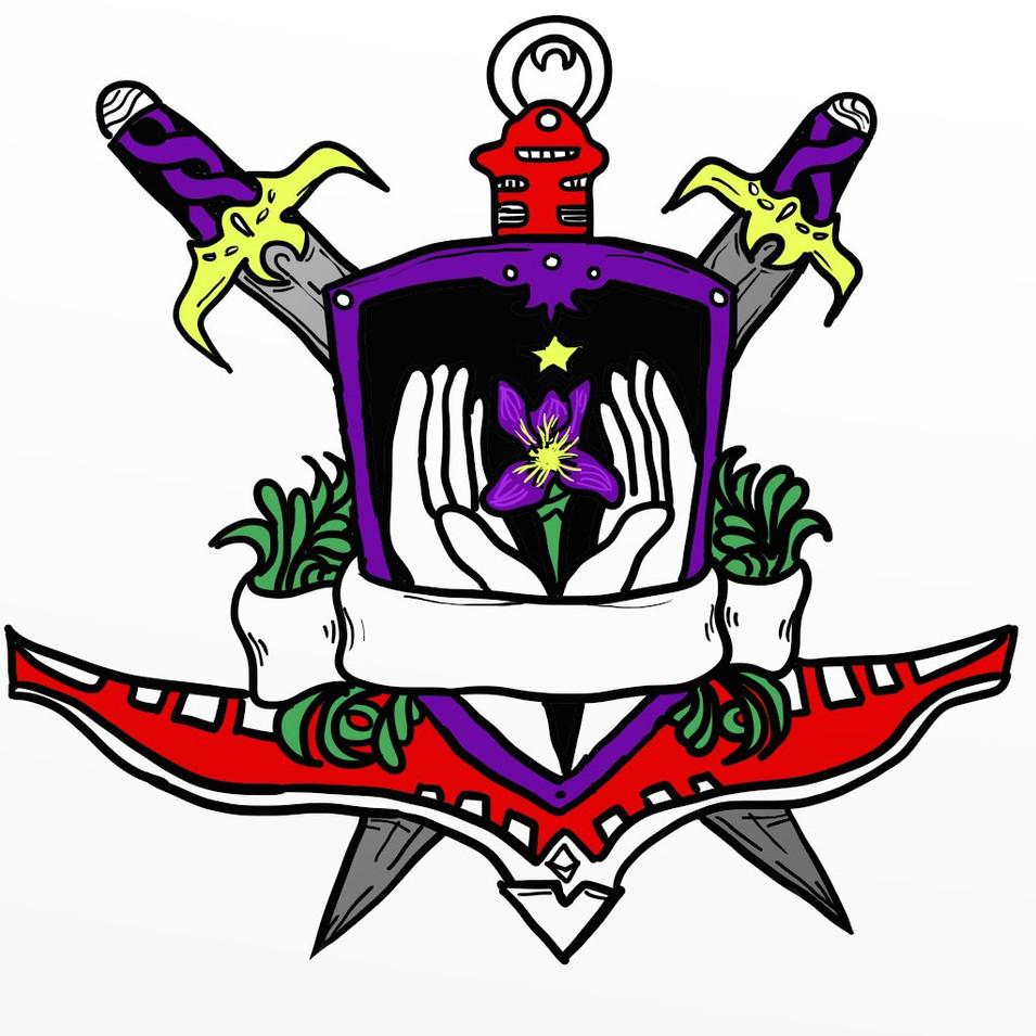 """Tribe of Iris"" Digital Logo"