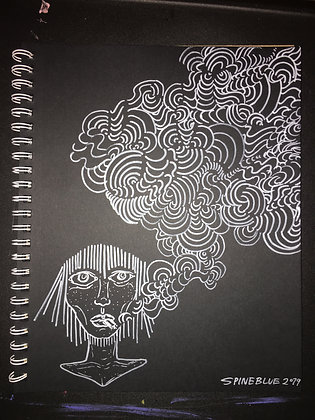 Smoking Saints Original Drawing