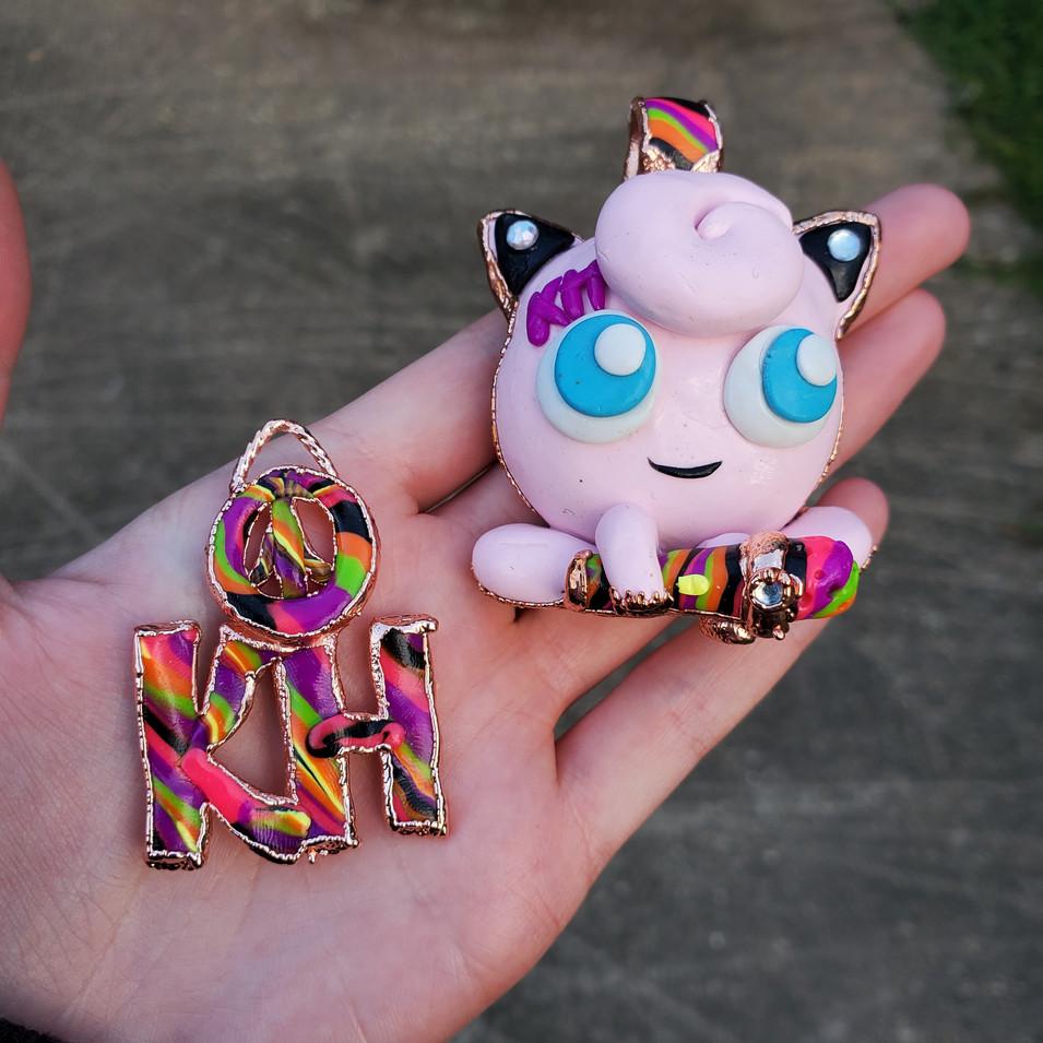 Custom Jigglypuff Pendant