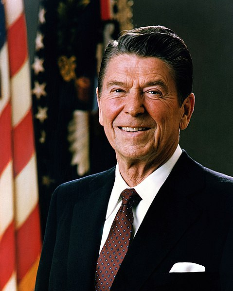 Official Portrait of Ronald Reagan, Wikipedia.org