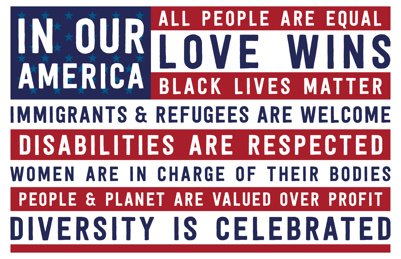 Image result for our values portland poster