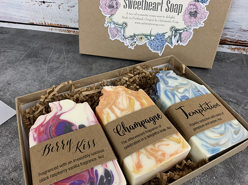 Boxed Sweetheart Soap Gift Pack