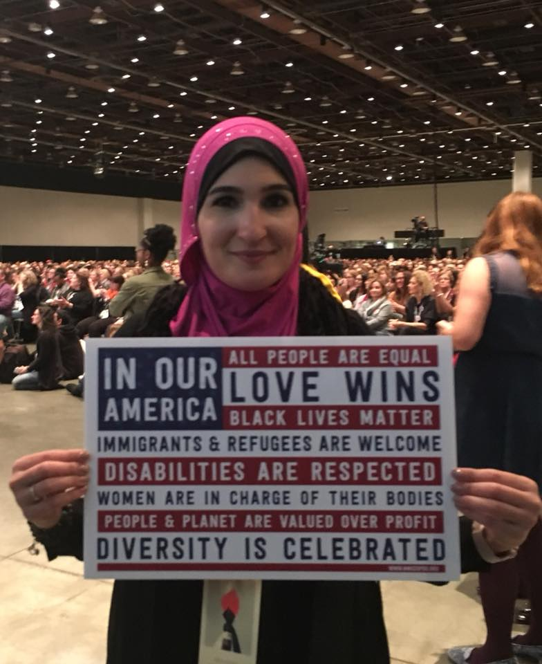 One of the organizers of the Women's March and the Women's Convention