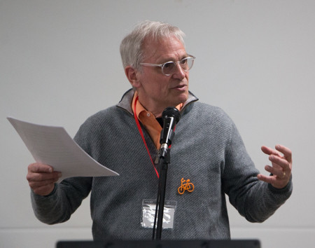 Oregon State Representative Earl Blumenauer surprised participants at lunch.