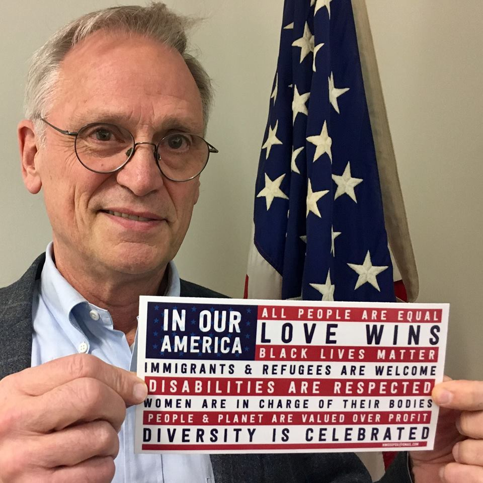 Congressman Earl Blumenauer has been a huge supporter of our efforts.