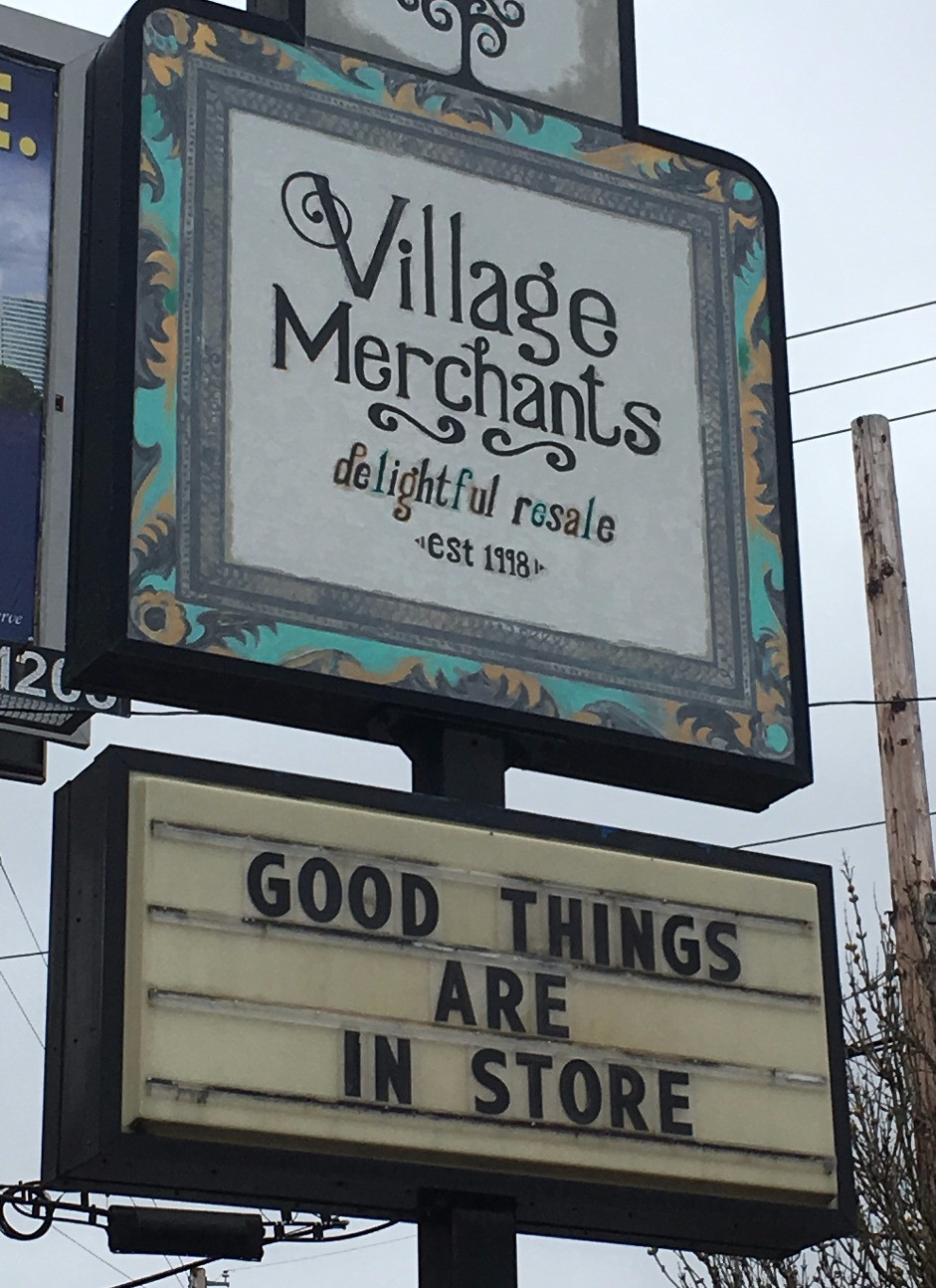 Village Merchant: Delightful Resale
