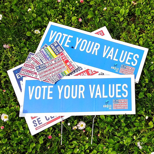 """""""Vote Your Values"""" Value Pack (members only)"""