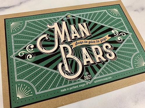 Man Bars boxed gift set