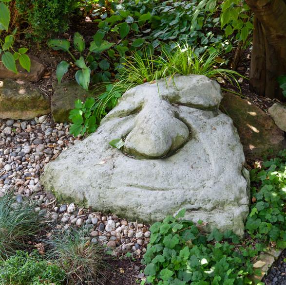 Skulptur aus Beton