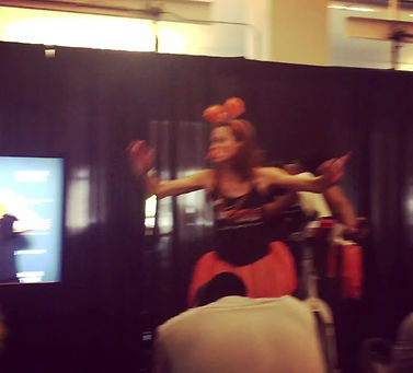 When you were drum major of your HS marching band, this is how you host Cycle for Survival