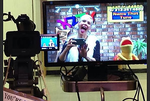 Tracey B Wilson. Children television host for KidZoneTV Mt Sinai Childrens Hospital.
