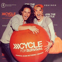 Tracey B Wilson bringing her energy to Cycle for Survival