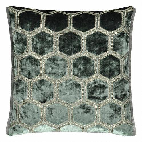 Подушка Designers Guild Manipur Jade