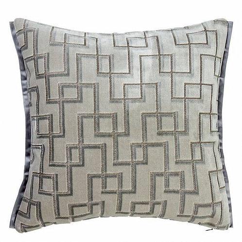 Подушка Designers Guild Jeanneret Platinum