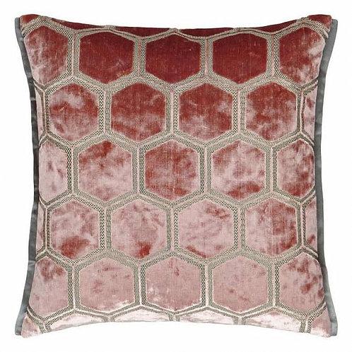 Подушка Designers Guild Manipur Coral
