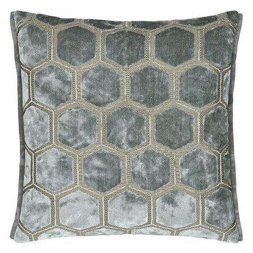 Подушка Designers Guild Manipur Silver