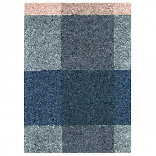 Carpet Ted Baker Plaid Gray blue
