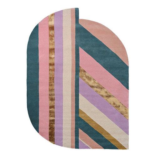 Carpet Ted Baker Jardin Geometric Stripe Pink