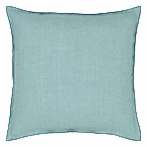 Подушка Designers Guild Brera Lino Ocean & Celadon