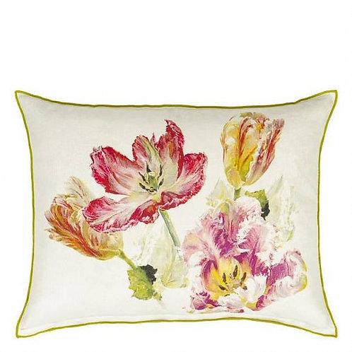 Подушка Designers Guild Spring Tulip Buttermilk