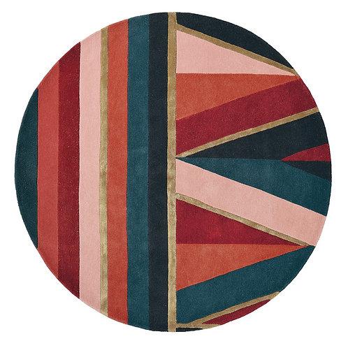 Ted Baker Carpet Sahara Round Burgundy