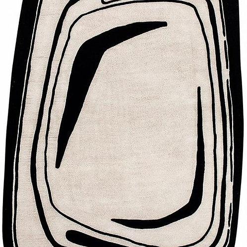 Ковер Toulemonde Bochart Fragment Noir et blanc