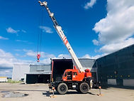 matterhorn crane operator training session