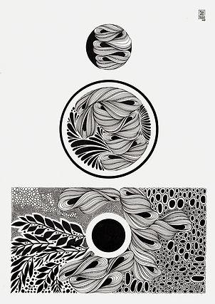 Dibujo tinta - Mele de la Yglesia