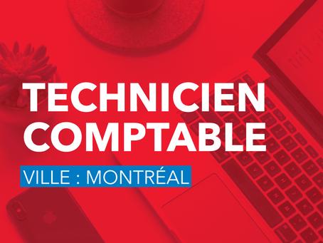 Technicien comptable (Montréal)