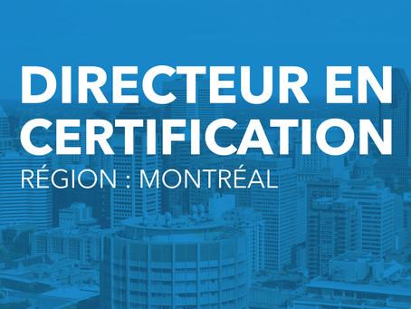 Directeur en certification