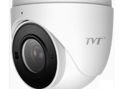 Tvt 6mp Eyeball H.265 Ipc,20fps,Dwdr,30-50mir,Zoom 2.8-12mm