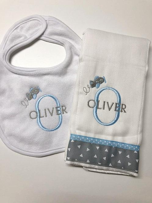 Oliver Bib/Rag Set