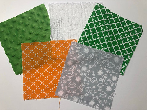 Rockets Green/Gray/Orange Made to Order Play Quilt