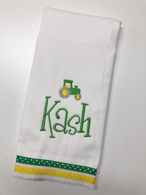 Kash Tractor Baby Rag