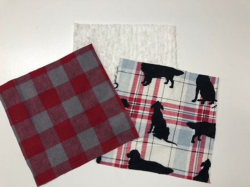 Plaid/ Dog Play Quilt