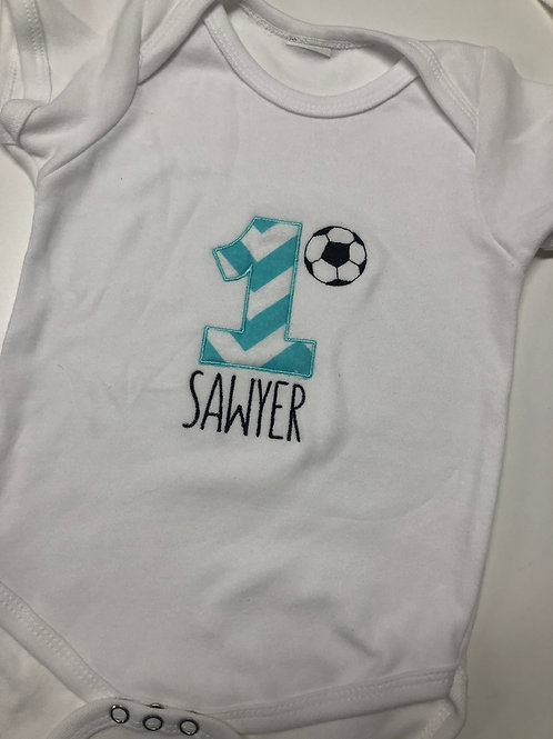 Soccer Birthday Shirt