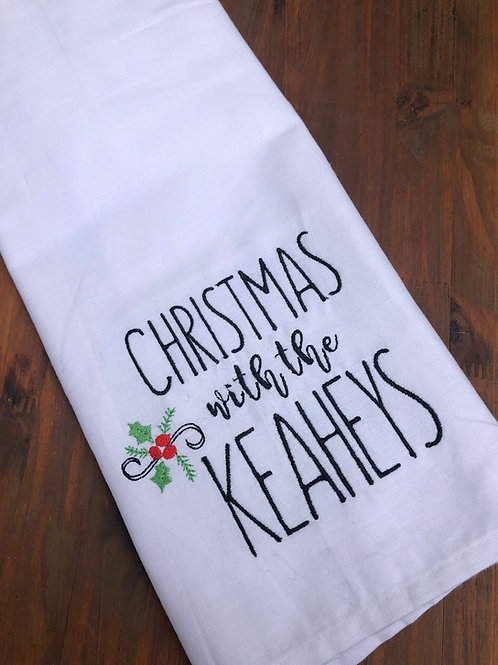 Christmas with the... Kitchen Tea Towel