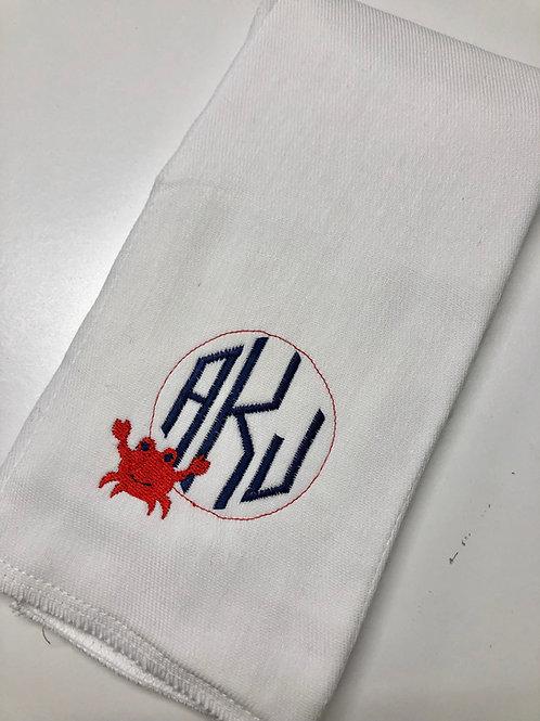 AKJ Crab  Baby Rag