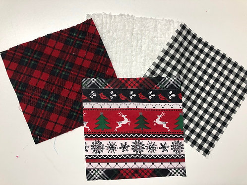 Red/Black Winter Play Quilt