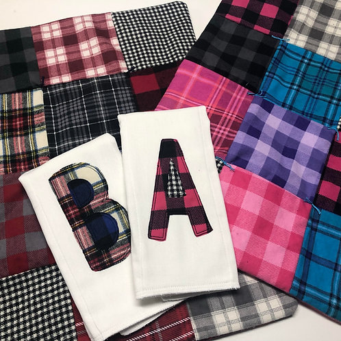 Plaid Flannel Travel Blanket