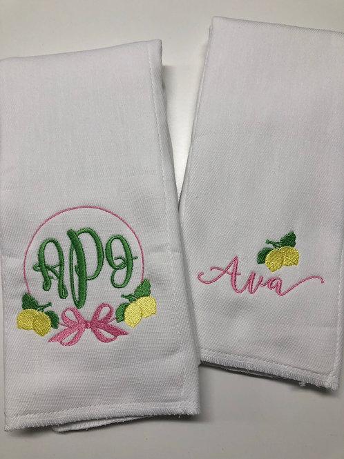 Ava Lemon Set of 2