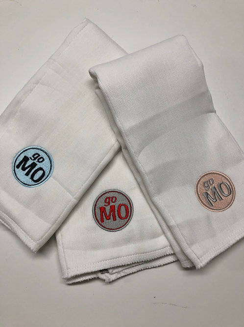 Add Your Company Logo to Baby Rag